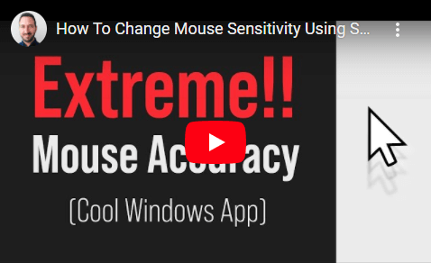 Video Of Mouse Acceleration And Sensitivity